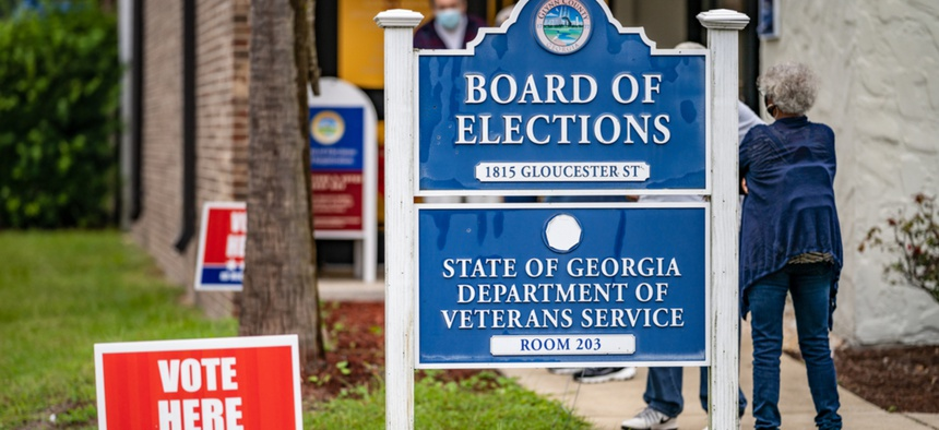 Voting in the Georgia runoff on Jan. 5 2021 went smoother than other elections, but experts warn future elections may not happen as smoothly.