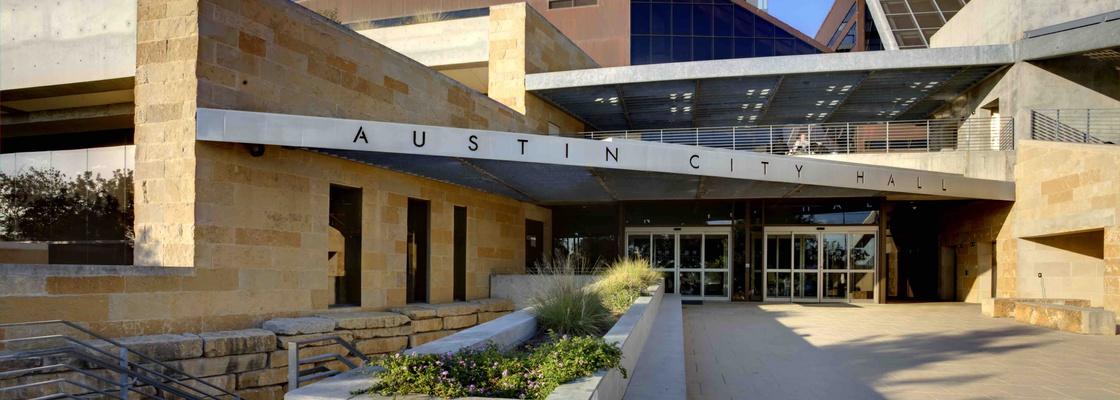 City Hall in Austin, Texas.