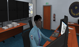A screenshot from one of the virtual reality simulations in development at Catapult Games.