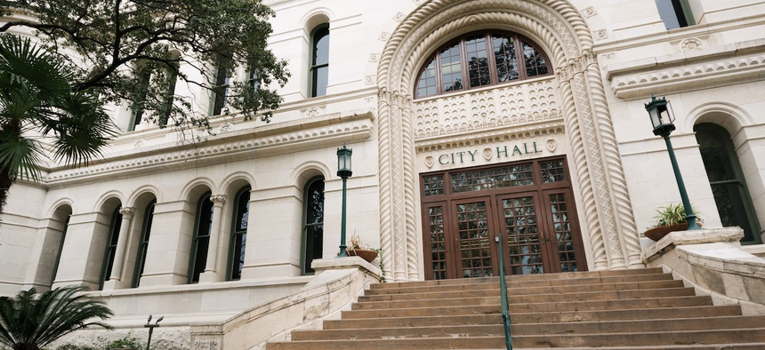 City Hall in San Antonio, TX.